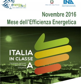 NOVEMBRE: MESE DELL' EFFICIENZA ENERGETICA