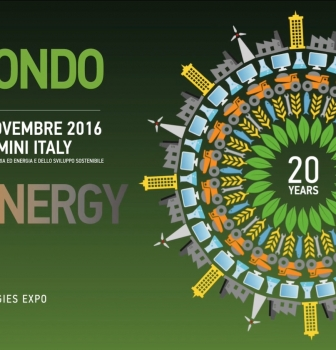 Ecomondo e Key Energy 2016 – dall' 8 all' 11 novembre – Rimini Fiera